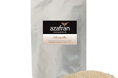 azafran bio ashwagandha pulver indischer ginseng schlafbeere gemahlen 500g 500x330 - Azafran BIO Ashwagandha Pulver - Indischer Ginseng (Schlafbeere) gemahlen 500g