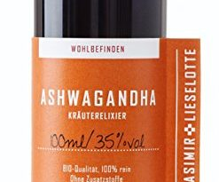 Ashwagandha Tinktur 100 ml/Tinktur aus der Schlafbeere - Hergestellt in Brandenburg - hoch konzentriert