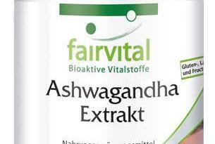 Ashwagandha Kapseln - HOCHDOSIERT - 1000mg Ashwagandha-Extrakt 12:1 pro Tagesdosis - 5% Withanolide - VEGAN - Withania Somnifera - 60 Kapseln - Schlafbeere